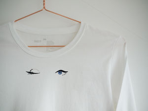 Winking Eye Long Sleeved T Shirt
