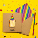 Birthday Toast Personalised Birthday Card