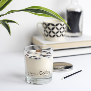 'For The Love Of Coffee' Soy Wax Candle