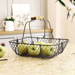 Chickenwire Double Handle Trug - kitchen