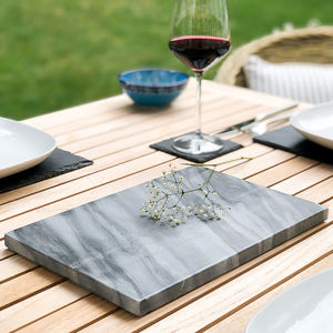 Marble Cheese Boards In Three Colours - chopping boards