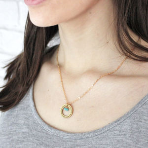 Birthstone Karma Necklace