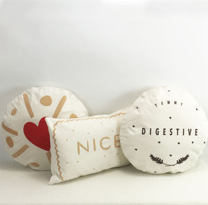 Biscuit Cushion - funny valentine's gifts