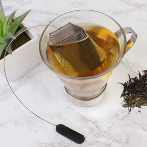 Tea Bag Shape Loose Tea Infuser - teapots