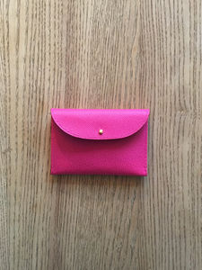Exmouth Leather Cardholder - passport & travel card holders