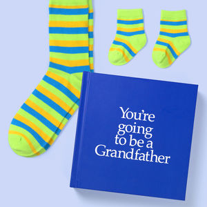 'You're Going To Be A Grandfather' Gift - books