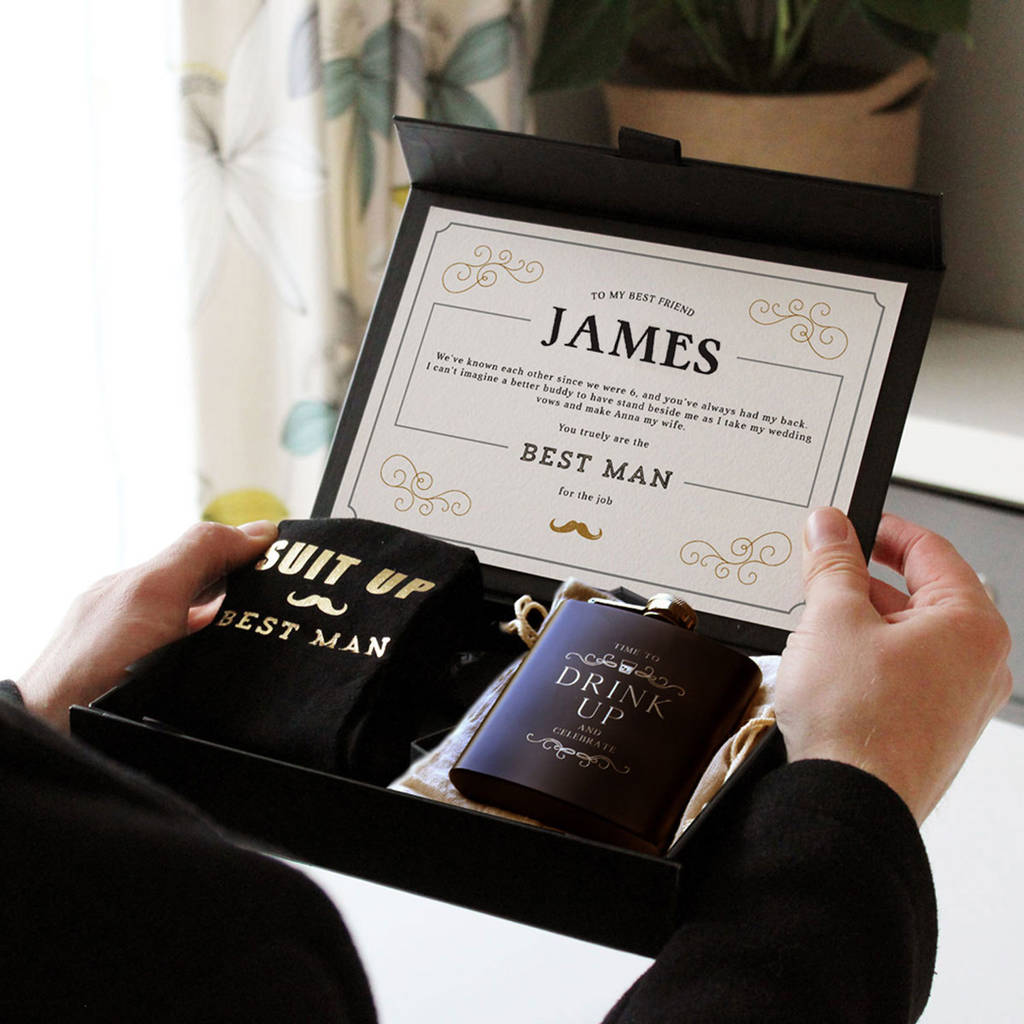 Suit Up Groomsman Gift Set