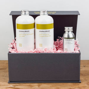 Luxury Organic Body Set - organic pampering sets