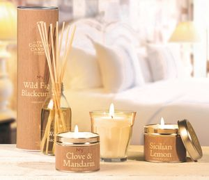 The Simply Natural Gift Candle Hamper