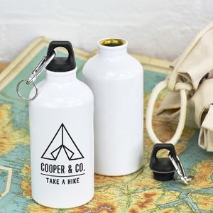 'Take A Hike' Personalised Adventure Water Bottle
