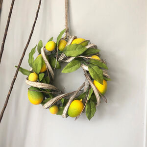 Decorative Lemon Wreath