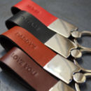 Keyring Personalised Leather