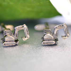 Excavator Cufflinks - men's accessories