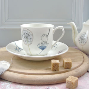Bone China Teacup And Saucer - cups & saucers