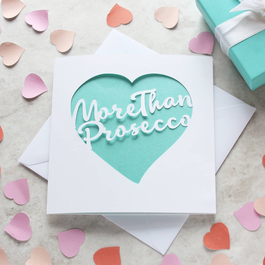 More Than … Personalised Valentine's Card