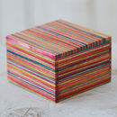 Dhari Fair Trade Mango Wood Small Trinket Box
