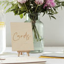 Wedding Card And Gift Table Sign
