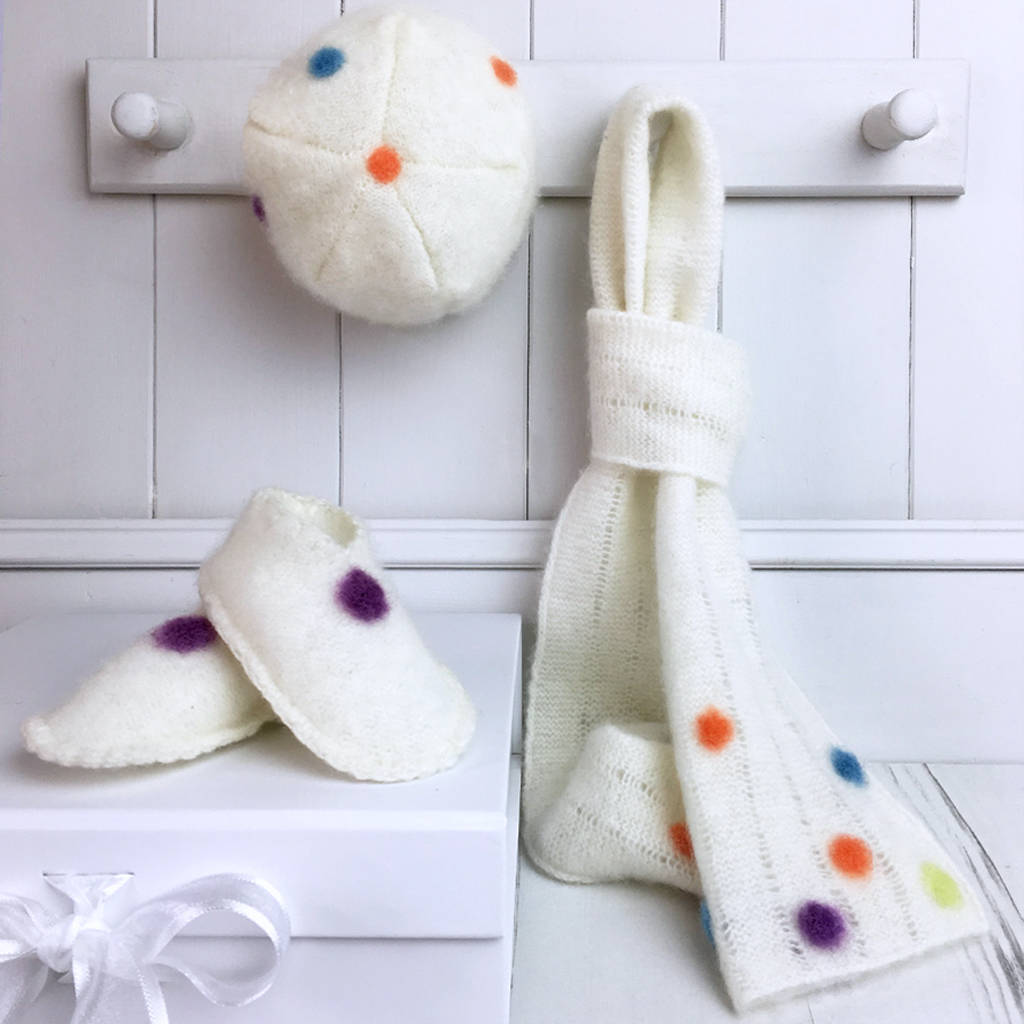 Cashmere Cosy Gift Set For Baby