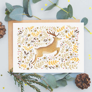 Reindeer Christmas Card - cards