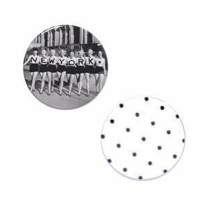 Mirror Set – New York Button