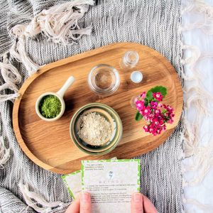 Make Your Own Matcha Tea Face Mask Kit - gifts for mothers