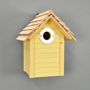 New England Nest Box In Yellow
