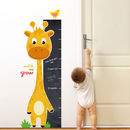 Watch Me Grow Giraffe Chalkboard Ruler Wall Sticker Set