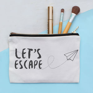Lets Escape Make Up Bag - make-up & wash bags