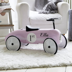 Personalised Pink Ride On Car - bikes & ride on toys