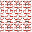 Christmas Dachshund Wrapping Paper Set Of Three