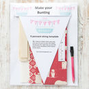Scandi Polar Bear Make Your Own Bunting Kit
