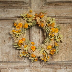 The Tyberton Dried Flower Wreath