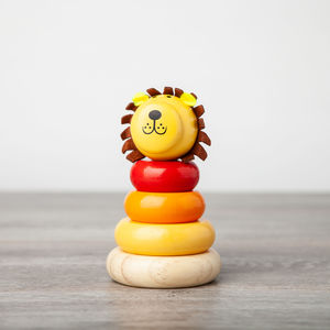 Lion Stacking Toy - traditional toys & games