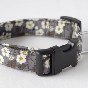 Willow Liberty Fabric Dog Collar - pet collars