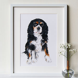 Personalised Pet Portrait Original Acrylic Painting - pet portraits