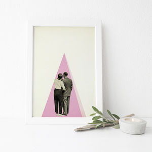 It's Just You And Me, Baby Romantic Print