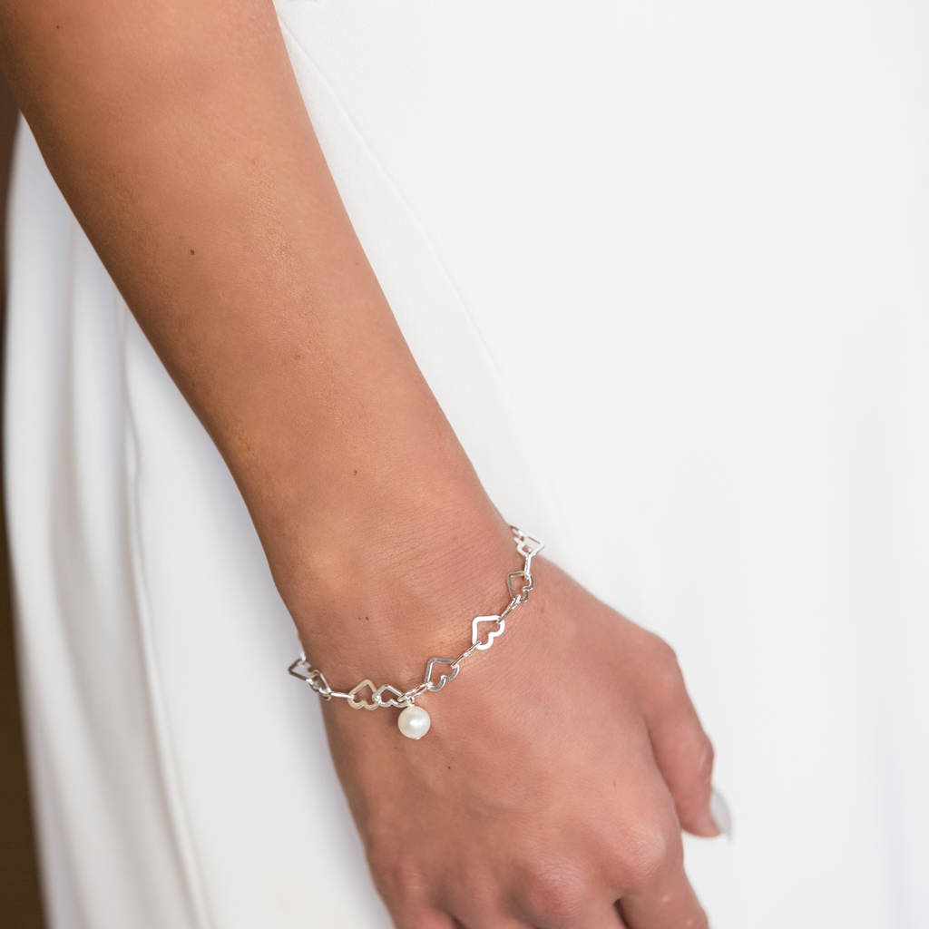 Sweetheart Bridal Bracelet