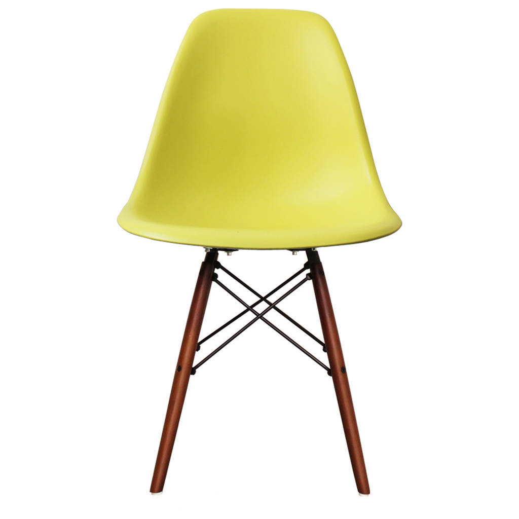 eames style dsw wood base chair 20 colours available by ciel. Black Bedroom Furniture Sets. Home Design Ideas