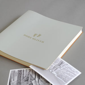Undercover Extra Large Leather Baby Album - photo albums