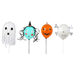 Spooky Character Balloons - party decorations