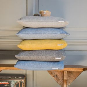 Recycled Wool Cushions - plain cushions