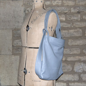 Tote Rucksack Adjustable Stylish Leather Bag - womens