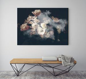 Blossom Clouds, Canvas Art - photography & portraits