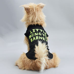 Personalised 'Little Monster' Pet Vest - pets