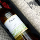 Personalised Wine And Newspaper Set