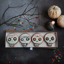 Day Of The Dead Skull Biscuit Gift Set
