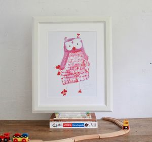 'Owley' Hand Signed Open Edition Print