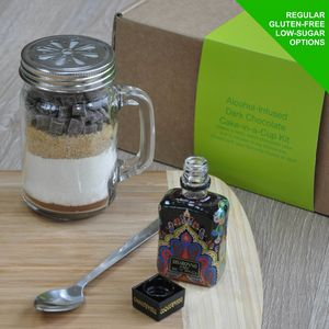 Disaronno Infused Dark Chocolate Mug Cake Kit - kitchen
