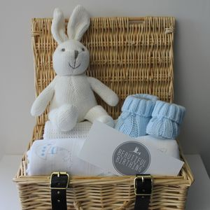 Newborn Baby Boy Hamper - blankets, comforters & throws
