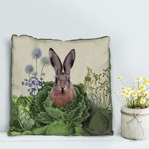 Cabbage Patch Rabbit Decorative Cushion One - cushions